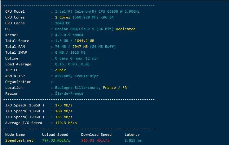明盘出ikoula10oCPUG3930内存8g硬盘2t1万小时io180左右g口显卡710插图
